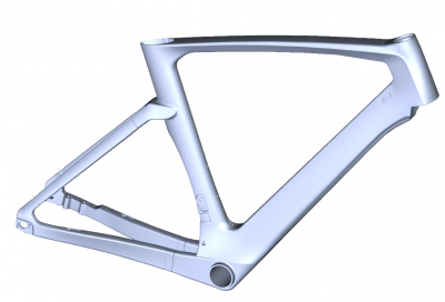 NEW DESIGN FLAT MOUNT DISC BRAKE AERO ROAD FRAMESET AG159